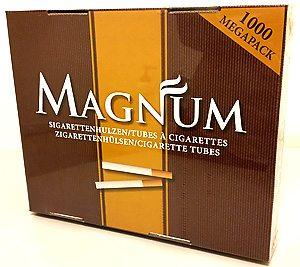 Cigaretthylsor Magnum 1000 st: 89kr
