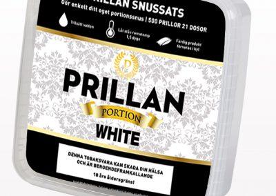 Prillan Portion White 500 prillor: 299kr